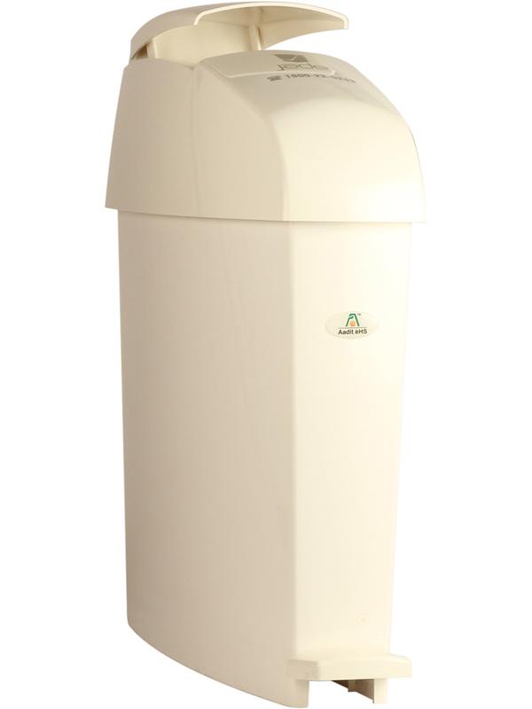 Sanitary Bin Miniped-White