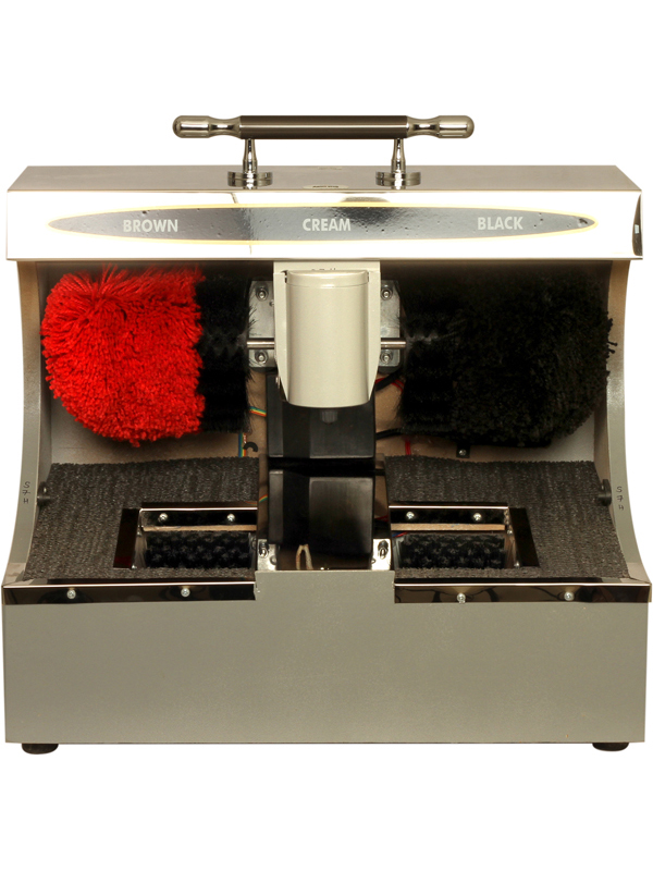 Ss Shoe Shining M/C With Sole Cleaner Ad 130