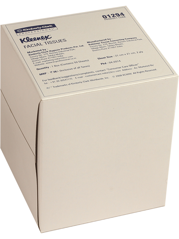 Klx.Facial Tissue Cubebox-1294