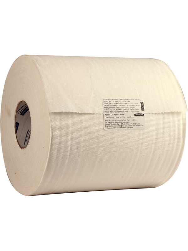 Wypall X-70 White Roll-1340