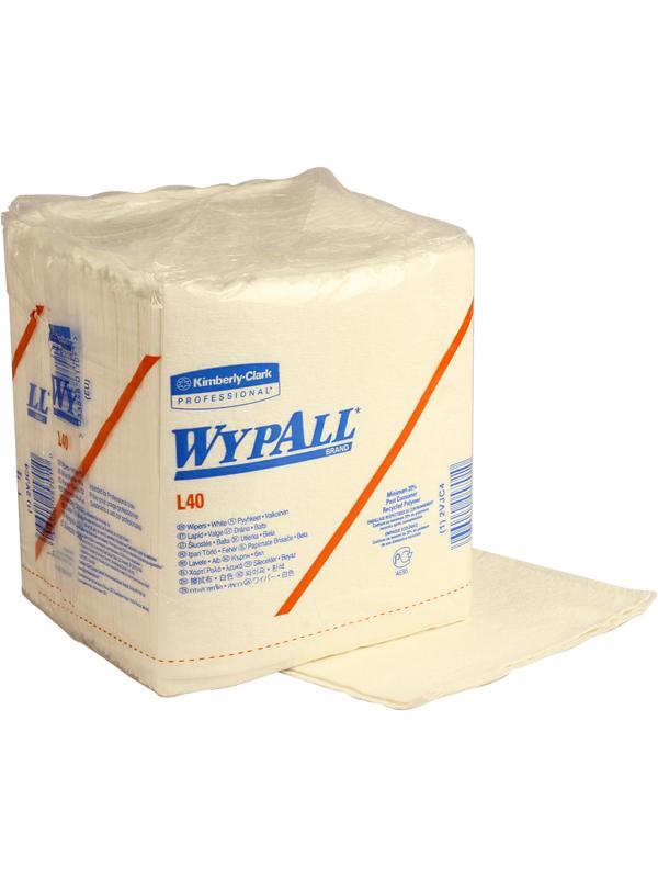 Wypall Wiper White L40 -3012 (05701)